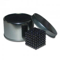 مگنت باکی بال نیکل سیاه 216 عددی (black nickel)گرید N35