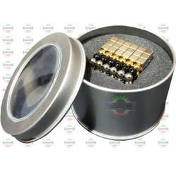 ست آهنربایی 216 عددی مکعب 5mm N35 و کروی 5mm N35